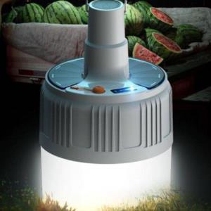 冠德1200超亮LED充电灯泡    8.9元包邮(2人拼,需用券)