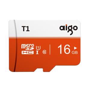 aigo爱国者T1高速版microSDHCUHS-IU1TF存储卡16GB 16.5元