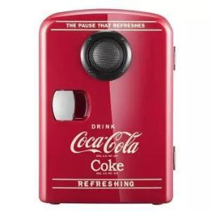 Coca-Cola可口可乐kl-4车载音乐冰箱4L 229元