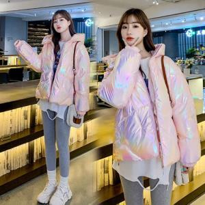 棉服女短款2020新款亮面棉袄学生韩版宽松外套女潮ins冬季面包服 168元