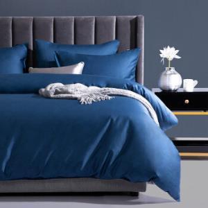 多喜爱(Dohia)床品套件60支长绒棉纯棉四件套全棉床单被套月色星空蓝1.8米床230*229cm 349元(需用券)