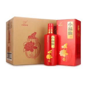 小糊涂仙小福仙(和谐福)浓香型白酒52度500ml*6瓶整箱装    498元