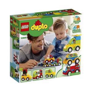 考拉海购黑卡会员:LEGO乐高得宝系列10886我的创意汽车收藏馆1岁半+34颗粒数拼插积木学龄前玩具收藏玩具    122元