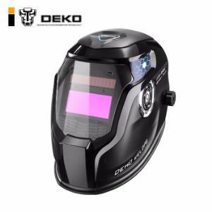 DEKO高清自动变光电焊面罩头戴式太阳能焊工氩弧焊防护电焊帽烧焊眼镜焊接面罩DNS550E 173元包邮