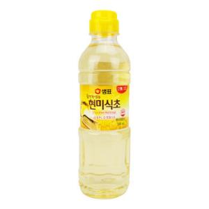 韩国进口膳府酿造糙米醋食用醋凉拌醋500ml*4件 46.6元(合11.65元/件)