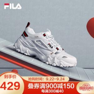 FILA斐乐官秋季新款复古休闲运动鞋女鞋集团白-AWT-F12W011115F37.5    429元