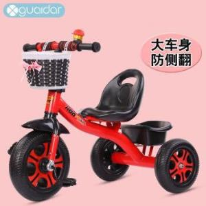 京东PLUS会员:搭啵兔三轮车脚踏车粉色 61.9元包邮(需用券)