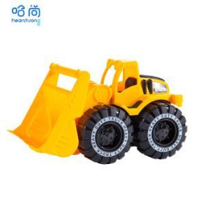 HearthSong哈尚儿童工程车玩具套装特大号挖土车挖掘机搅拌车汽车9.9元(需用券)
