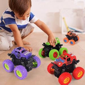 儿童惯性四驱越野车仿真特技摇摆汽车玩具抗耐摔玩具车12.9元