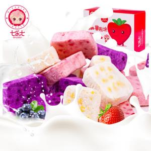 七乐七冻干酸奶果粒块54g    9.9元(需用券)