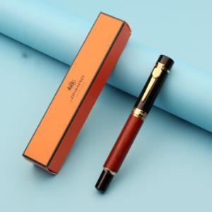 JINHAO金豪650A花梨木杆钢笔0.7mm送金豪墨水 55元