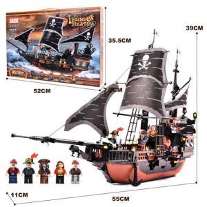 GUDI古迪加勒比海盗系列9115黑珍珠号63元(需用券)
