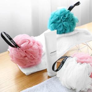 大号沐浴球澡巾套装白青拼色+白色和粉拼色+粉色    8.8元(需用券)