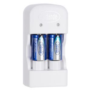 斯丹德(sidande)CR2电池充电套装(2粒) 38元