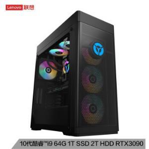 联想(Lenovo)拯救者刃9000K2020游戏电脑主机(i9-10900KRTX309024GB显卡64G2T+1TBSSD水冷ARGB) 25999元