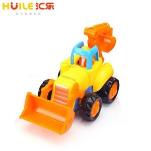 汇乐玩具(HUILETOYS)快乐工程队推土车326A惯性动力工程车男孩玩具儿童塑料车模单只装颜色随机6.8元(需用券)