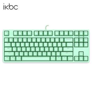 ikbcC200机械键盘有线键盘游戏键盘87键cherry轴樱桃轴绿色茶轴