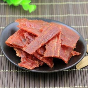 猪肉脯靖江特产1斤猪肉干肉片100g网红肉类休闲食品原味蜜汁
