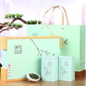 京东PLUS会员:龙井茶新茶叶雨前浓香豆香型杭州特级礼盒装250g顺丰包邮