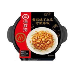 海底捞番茄鸡丁土豆方便米饭272g*1碗*4件20元(需用券,合5元/件)