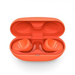 SONY索尼WF-SP800N入耳式真无线蓝牙降噪耳机橘色979元
