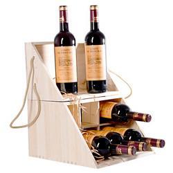 COMTEROSSI卡梅罗西法国进口红酒卡梅罗西佩里戈尔干红葡萄酒750ml*6瓶木箱整箱装 169元
