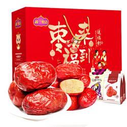 HONEYWEST楼兰蜜语楼兰蜜语红枣礼盒枣来福到礼盒1800g/盒 23.28元(需买3件,共69.85元)
