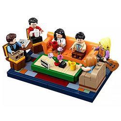 LEGO乐高21319创意美剧老友记咖啡馆经典重现男女孩积木玩具礼物409元