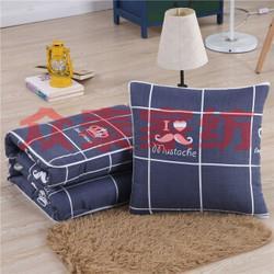 多功能抱枕被子两用靠垫被沙发靠枕保暖午休被办公室午睡枕头被22.9元(需用券)