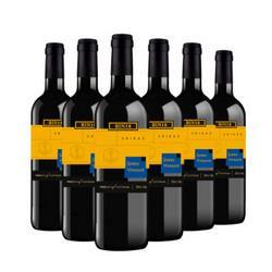 JamesVineyard詹姆士酒庄Bin18西拉干红葡萄酒750ml*6瓶整箱装澳洲进口红酒