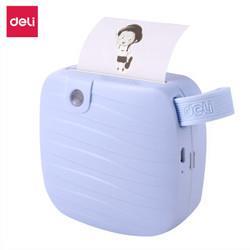 得力(deli)X1相印宝喵喵机不干胶便携蓝牙热敏打印机便签照片错题备忘交友口袋打印机天空蓝*2件323元(需用券,合161.5元/件)