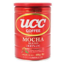 UCC悠诗诗摩卡综合焙炒咖啡粉400g 69.3元(需买2件,共138.6元,需用券)