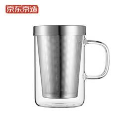 J.ZAO京东京造玻璃茶杯500ml39.2元(需买3件,共117.6元)