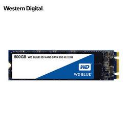 WesternDigital西部数据WDBlue固态硬盘500GBM.2接口 439元