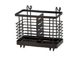 筒壁挂式厨房篓勺子置物架收纳盒