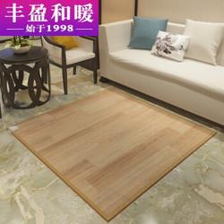 丰盈和暖碳晶膜电热炕板麻将桌暖脚垫电热地毯韩国移动地暖垫榻榻米电热垫即开即热100*100LG0721549元