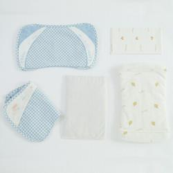 L-LIANG良良liangliang良良新生儿枕升级加长盒装蓝色 121.2元(需买2件,共242.4元)