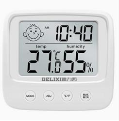 DELIXI德力西室内干湿两用电子温度计(基础款) 16.8元