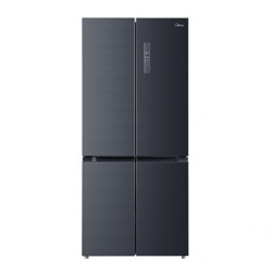 Midea美的冰箱507升高效杀菌净味一级能效双变频十字对开家用电冰箱BCD-507WTPZM(E) 5999元