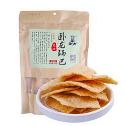 卧龙食品卧龙老灶锅巴五香味400g 7.4元(需买2件,共14.8元)