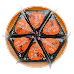 京鲁远洋冷冻蟹肉沙拉酱饭团600g6枚袋装*10件