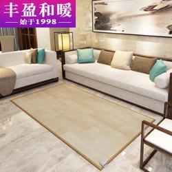 丰盈和暖碳晶移动地暖垫电热地毯韩国取暖毯电热瑜伽垫榻榻米电热炕板冬季高温取暖器200*100LG0711739元