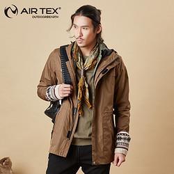 AIRTEX亚特AT1A18M9004-BTW男士商务外套105元