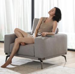 8HB3CAlita柔软麻乳胶智能沙发单人位 1599元