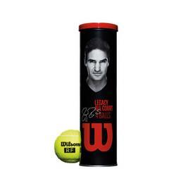 Wilson威尔胜威尔胜(Wilson)WRT11990M费德勒训练球专业网球RF4只/罐 39.94元