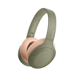 SONY 索尼 WH-H910N 头戴式无线蓝牙耳机 灰绿色 839元包邮(双重优惠)(补贴后835.22元)