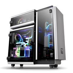 Thermaltake曜越Level20全塔水冷机箱(周年纪念款/4面钢化玻璃)    5999元