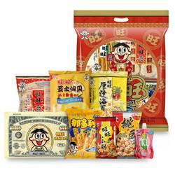 WantWant旺旺大礼包综合口味650g*4件 131.2元(需用券,合32.8元/件)