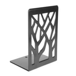 晨光(M&G)文具6.8英寸黑色学生书立书架书夹金属树影铁制创意挡书板2个装ABS91718*5件42.5元(需用券,合8.5元/件)