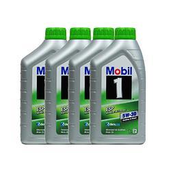 Mobil美孚5W-30SN级全合成机油1L4瓶 208元